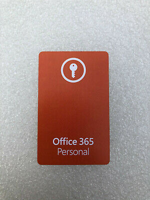 AU75.88 • Buy Microsoft Office 365 Personal - Product Key Card (EU LICENSE ONLY)