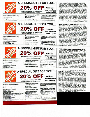 $10 • Buy  **(4)**20%** OFF HOME DEPOT Competitors Coupon At Lowe's Expires 7/31/20