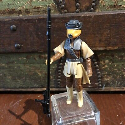 $ CDN52.10 • Buy Vintage STAR WARS Princess Leia Boushh Figure Bounty Hunter Disguise COMPLETE