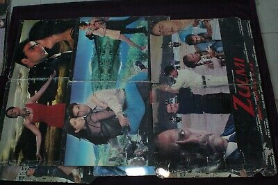$ CDN180.64 • Buy Movie Posters Old Indian Bollywood Picture Zulmi Set Of 8 Posters Collectibles