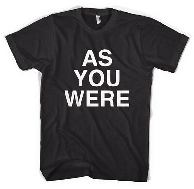 'As You Were' Liam Gallagher Oasis Beady Eye Unisex T-Shirt All Sizes Colours • 12.99£