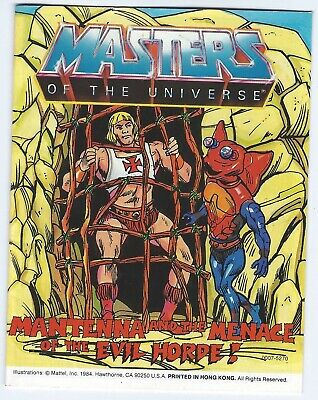$8.42 • Buy Masters Of The Universe Vintage 1984 Mini Comic MENACE OF MANTENNA #8 Of 10