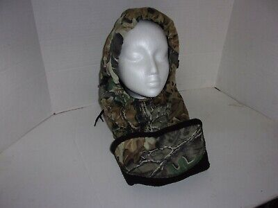 £10.64 • Buy Camouflage Hood Advantage Timber One Size Camo Cover Hunting Fleece Lining (BA10