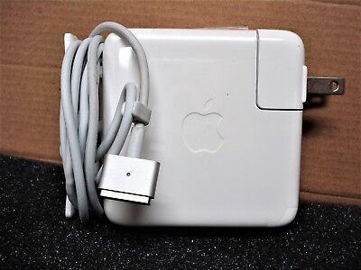 $29.75 • Buy Genuine OEM Magsafe2 60W AC Adapter Charger For APPLE 13  MacBook Pro A1435 USED