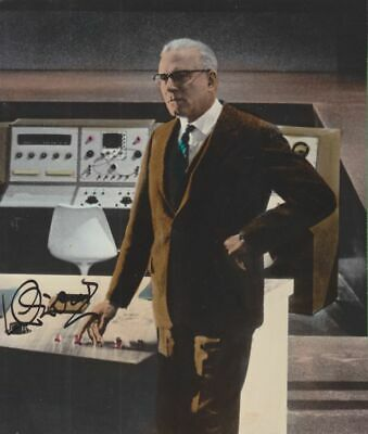 LAURENCE OLIVIER In Person Signed PHOTO AUTOGRAPH  15,5x18,4 Cm • 50£