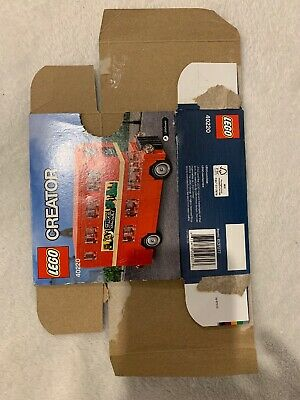 $ CDN5 • Buy LEGO 40220 Creator Double Decker London Bus - BOX ONLY