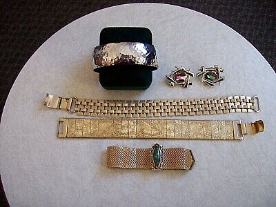 $ CDN50 • Buy Vintage Lot Of 5 Sarah Coventry Pieces - Bracelets & Clip On Ers