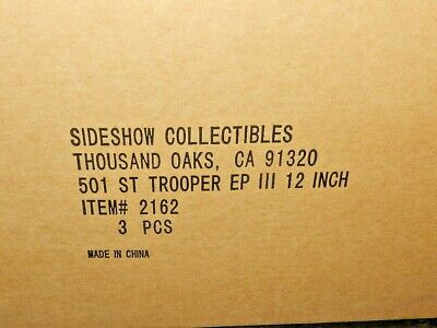$250 • Buy STAR WARS SIDESHOW HOT TOYS 501st LEGION CLONE TROOPER NEW SEALED 12