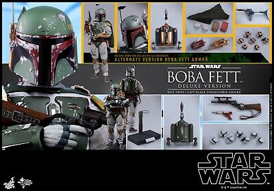 $285 • Buy MMS464 Hot Toys Boba Fett Star Wars 1/6 Scale Deluxe