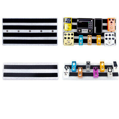 $ CDN136.26 • Buy Lots 2 Guitar ABS Single Effect Pedal Boards Guitar Replacements Parts Accs