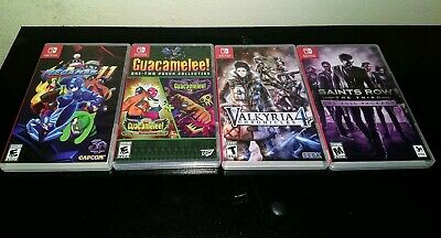 $94.99 • Buy Nintendo Switch Bundle Lot Of 4 Pre-owned Games Region Free
