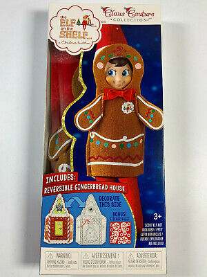 AU14.57 • Buy The Elf On The Shelf Outfit Jolly Gingerbread NEW