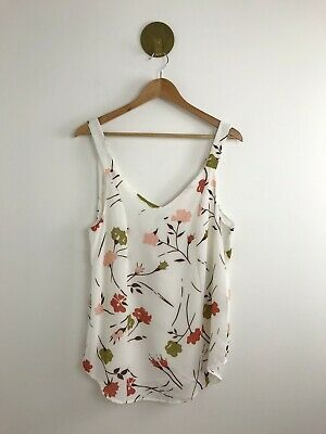 AU32 • Buy Zulu & Zephyr Women's Top Size 12 Wildflower Camisole Open Split Back NWT