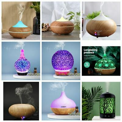 AU28.99 • Buy Essential Oil Aroma Diffuser LED Ultrasonic Humidifier Air Mist Aromatherapy