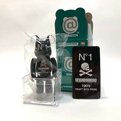 $75 • Buy 100% Bearbrick Series 24 Artist  Neighborhood  RARE Medicom Be@rbrick NEW