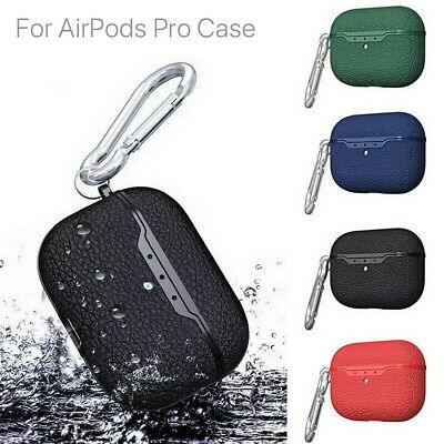 AU7.99 • Buy For Apple AirPods Pro Protective Case Matte Soft Silicone Charging Cover Black