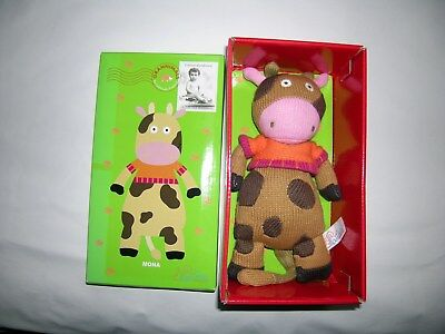 Latitude Enfant Mona The Cow Grannimals Brand New Boxed The Wooly Family • 17£