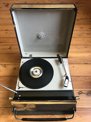 AU60 • Buy PYE Vintage Portable Record Player Catalina - 60s Retro Mid Century Modern