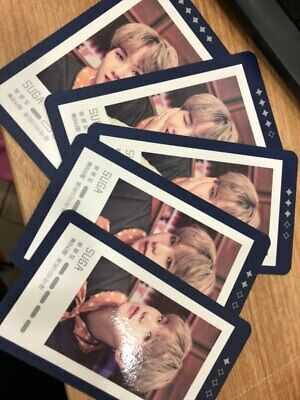 $49.99 • Buy BTS 5th Muster Magic Shop Official MD Guest Card SUGA 5Ea All Set