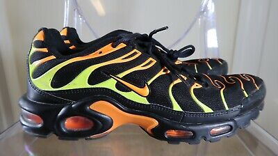 $79.99 • Buy ⚡️Nike Air Max Plus Tn Black Volt Orange 852630-033 Running Mens Size 10