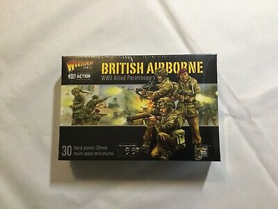 WW2 Bolt Action - British Airborne WWII Allied Paratroopers Warlord Games • 20£