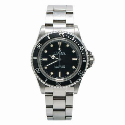 $ CDN14927.91 • Buy Rolex Submariner Vintage 5513 9.7 Million Serial Unpolished 2 Liner Watch 40mm