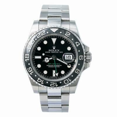 $ CDN14010.30 • Buy Rolex GMT-Master II 116710 Ceramic Mens Automatic Watch With Box & Papers 40mm