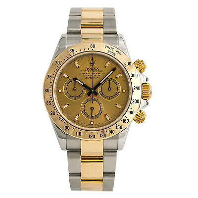 $ CDN17080.68 • Buy Rolex Daytona 116523 Z Serial Watch Automatic 18k Two Tone Champagne Dial 40mm
