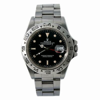 $ CDN13982.34 • Buy Rolex Explorer II 16550 R Serial Men Automatic Watch Box&Papers Black Dial 40mm