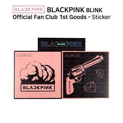 $ CDN12.09 • Buy BLACKPINK 1st Fan Club BLINK Official Goods Sticker Set 3PCS Jennie KPOP K-POP