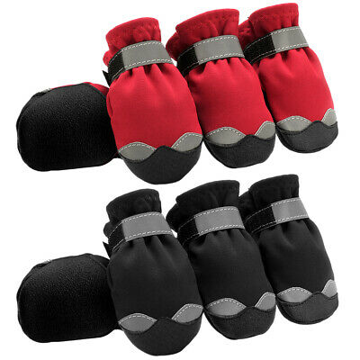 £7.99 • Buy Waterproof Protective Large Dog Shoes Non Slip Reflective Big Snow Boots Booties