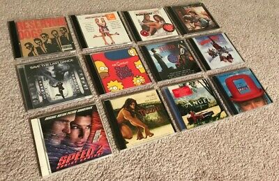 $ CDN7.89 • Buy LOT Of TWELVE Movie Soundtrack Song CDs USED - Titles R To T