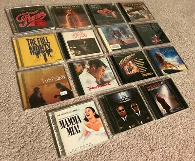 $ CDN9.39 • Buy LOT Of FIFTEEN Movie Soundtrack Song CDs USED - Titles F To M