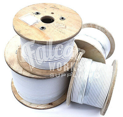 £2.99 • Buy PVC COATED A4 STAINLESS STEEL MARINE WIRE ROPE CABLE 7 X 7  3mm 4mm 5mm DIAMETER