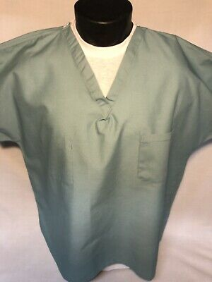 $14.95 • Buy New Men's L Fashion Seal Made In Usa Scrub Surgical Shirt Us Military Hospital