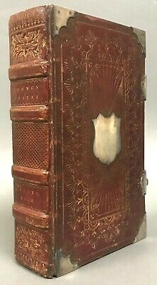 £468.13 • Buy Fine B. Maund Binding W/ Sterling Silver Accents   Book Of Common Prayer  1820
