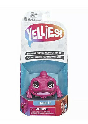 $6.25 • Buy Yellies Lizard Lizabelle Voice Activated Pet Toy - Hasbro