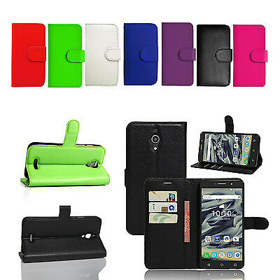 For Huawei P10 P10 Lite P10 Plus PU Leather Wallet Magnetic Phone Case Cover • 2.15£