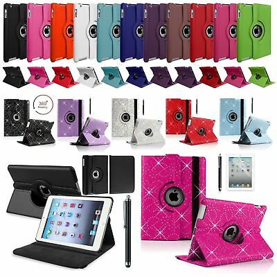 £3.99 • Buy Leather 360 Rotating Smart Case Cover Apple IPad Air 2 Pro 12.9 Air 10.9 Mini 5