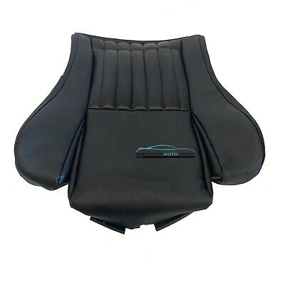 $146.99 • Buy 2002 Pontiac Firebird Trans Am Driver Bottom Synthetic Leather Seat Cover Black