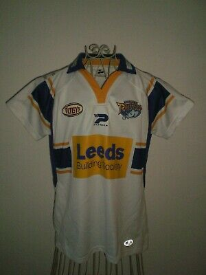 Leeds Rhinos Ladies Patrick Home Rugby League Shirt - Womens Size 16  *great* • 8.99£