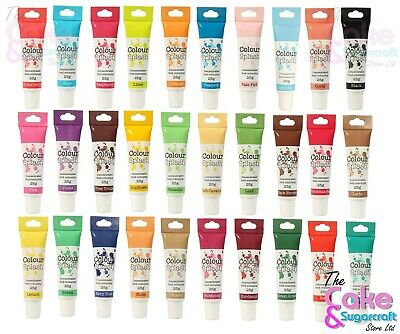 Colour Splash Food Colouring Concentrated Gel Paste Cake Decorating FreeDelivery • 2.73£