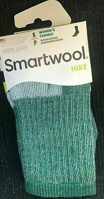 $11.80 • Buy FIRST QUALITY Smartwool Womens Hike Hiking Merino Wool Socks SMALL Green $19.95