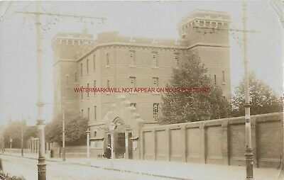 Berkshire Reading The Barracks 1908 Real Photo Vintage Postcard 1.12 • 5£