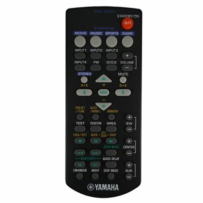 AU50.40 • Buy Genuine Yamaha FSR21 WP08300 Soundbar Remote Control
