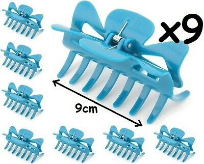 £12.50 • Buy 9 X Large Hair Claw Clamps Clips Octopus Claw Bulldog Clamp Accessories 9cm