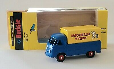 Budgie Diecast Models 204 VW SINGLE CAB PICK UP 1:43 MICHELIN TYRES LIVERY MIB • 27.50£