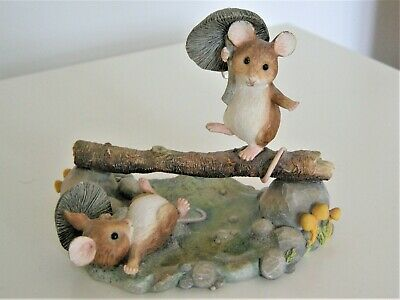 Border Fine Arts Merrie Mice Balancing Act A1815 Funguys • 17.50£