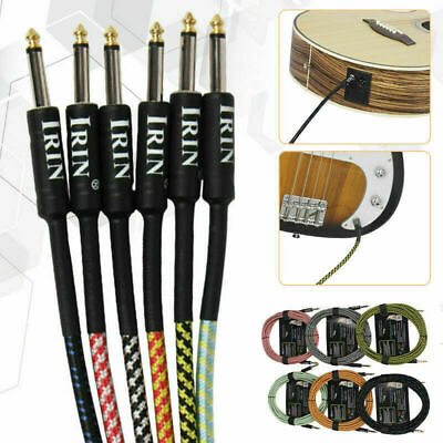 AU32.15 • Buy Premium Guitar Lead: Noiseless Cable Electric/Bass/Acoustic To Amp Instrument