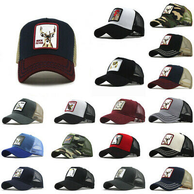 Men Women Unisex Outdoor Cotton Hat Animals Embroidered Baseball Caps Adjustable • 4.49£